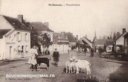 41 Saint-Romain Sur Cher (romorantin-lanthenay) - Vue Principale Chevre Goat RARISSIME - Altri Comuni