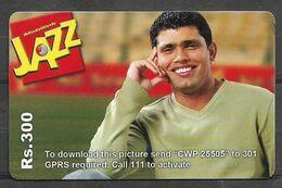 USED PHONECARD PAKISTAN ON CRICKET - Pakistan