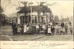 Cp Beverwijk Nordholland Niederlande, Entree, Straßenpartie, Kindergruppe - Ohne Zuordnung