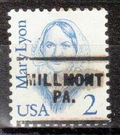 USA Precancel Vorausentwertung Preo, Locals Pennsylvania, Millmont 703 - Prematasellado
