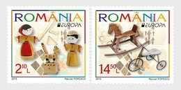 Roumanie Romania 5905/06 Jouets D'enfant, Europa - 2015