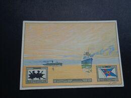 Bateau ( 143 )  Boot  Compagnie Belge Maritime Du Congo - Anvers - Paquebote