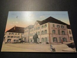 CP TRAVERS - HOTEL DE L'OURS - NE Neuchatel