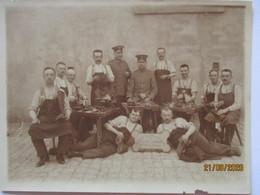 Belgien St. Avold, Die Fiedelen Schuhmacher Des Ers.Btl. IR 123, Foto (1787) - Weltkrieg 1914-18