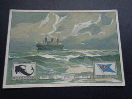 Bateau ( 145 )  Boot  Compagnie Belge Maritime Du Congo - Anvers - Paquebote