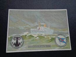 Bateau ( 146 )  Boot  Compagnie Belge Maritime Du Congo - Anvers - Paquebote