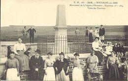 62.BOULOGNE SUR MER - Monument De La Légion D'Honneur -Napoléon 1er - 1804- Visite Des Touristes - B.M 705 - Boulogne Sur Mer