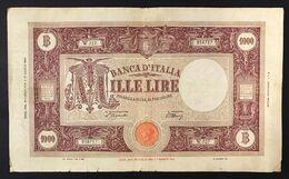 1000 Lire Grande M B.I. 12 07 1946 La Prima Data Repubblicana  R2 LOTTO 3352 - [ 2] 1946-… : Républic