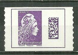 FRANCE MNH ** Adhésif Autocollant 1656 Marianne L'engagée Marianne D'YZ Marianne Datamatrix - Frankreich