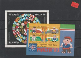 Malta    Posten/Lot   Blöcke   Postfrisch**   MiNr. Block 12-13 - Malta