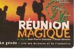 CARTE DE LA REUNION ILE MAGIQUE/ Geode 1997 - Phonecards