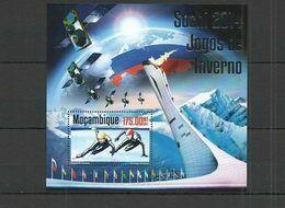 Olympische Spelen 2014 , Mozambique - Blok  Postfris - Winter 2014: Sochi