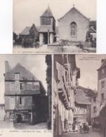 2511111Quimperlé, Chapelle Saint David - Vieilles Maisons Du XV Siecle - Vieilles Maisons Du XV Siecle (3 Cartes) - Quimperlé