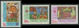 Iran 1968 Mi 1442 /4 YT 1308 /0 ** Children's Drawings – Children's Week / Kinderzeichnungen - Iran
