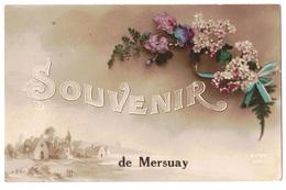 Souvenir De Mersuay- O E - Frankreich