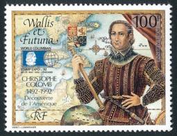 WALLIS ET FUTUNA 1992 - Yv. PA 173 **   Faciale= 0,84 EUR - Découverte De L'Amérique Par C. Colomb  ..Réf.W&F23014 - Poste Aérienne