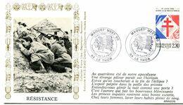 Bureau Temporaire LE THOR - 13 Octobre 1990 - Maquet' Meet 90 - Hommage Au La Fayette - Y 304 - Guerre De 1939-45