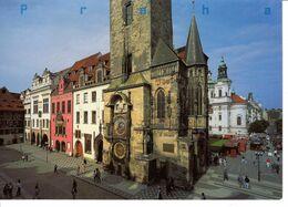 Tchequie Republique Tcheque Praha Prague Staromestske Namesti Place De La Vieille Ville Batiment Monument Edifice - Repubblica Ceca