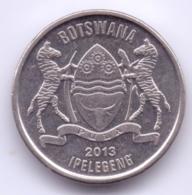 BOTSWANA 2013: 50 Thebe, KM 34 - Botswana
