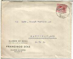 MADRID CC ALFONSO XIII  MAT 1930 ALCANCE MEDIODIA - Cartas