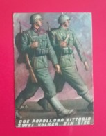 BOCCASILE - DUE POPOLI UNA VITTORIA - PM 54. - Guerra 1939-45