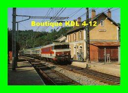 RU 0149 - Train, Loco CC 6520 En Gare - VIGEOIS - Corrèze - SNCF - Other Municipalities