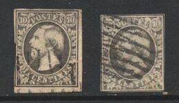 Luxembourg (01) Willem III 1852 10c Black - 1852 Wilhelm III.