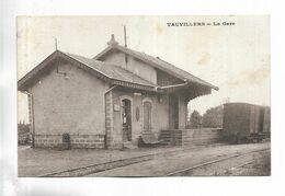 70 - VAUVILLERS - La Gare - Wagon - Frankreich