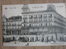 KNOKKE Knocke HEYST /HOTEL KURSAAL ET DIGUE 1910 - Knokke