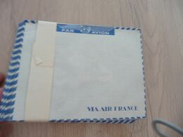 Liasse 27 Enveloppe Vierge Air France Par Avion - Stationery