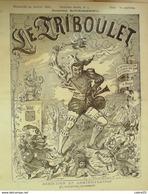 LE TRIBOULET-1888-04-BLASS-GRELOT-ROLAND-LILI0 - Zeitschriften - Vor 1900