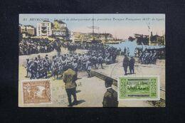 LIBAN - Affranchissement De Beyrouth Sur Carte Postale En 1930 - L 69639 - Lettres & Documents