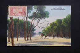 LIBAN - Affranchissement De Beyrouth Sur Carte Postale  - L 69640 - Lettres & Documents