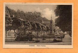 Landshut Germany 1910 Postcard - Landshut