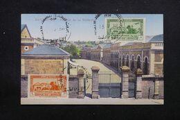 LIBAN - Oblitération Des Journées Médicales De Beyrouth Sur Carte Postale ( Faculté De Médecine ) En 1938 - L 69655 - Lettres & Documents