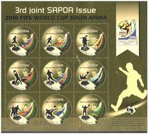 (043 Fo) Namibia (SWA) / Namibie  2010 / Sport  Football / Soccer / SAPOA Sheet / Bf / Bloc  ** / Mnh Michel 1337-45 KB - Unclassified