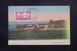 LIBAN - Oblitération De Beyrouth Sur Carte Postale ( Phare Et Service Des Autos ) En 1925 - L 69660 - Lettres & Documents