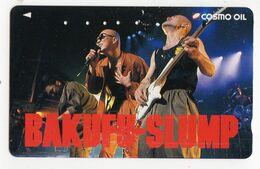 JAPON TELECARTE  MUSIQUE BAKUFU SLUMP Groupe De Rock Japonais - Music