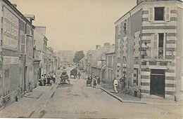 INDRE - CHATEAUROUX -  La Rue Raspail - Restaurant Bonnetat , Marchand Ambulant .animation Charrettes - Bon état - Chateauroux