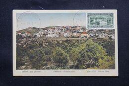 LIBAN - Oblitération De Beyrouth Canons Sur Carte Postale  En 1937 - L 69665 - Lettres & Documents