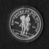NICARAGUA. AÑO 1999. 10 CÓRDOBA PLATA. IV SERIE IBEROAMERICANA - Central America