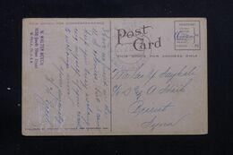 ETATS UNIS - Affranchissement De Philadelphia Sur Carte Postale Pour Beyrouth ( Liban ) En 1919 - L 69675 - Briefe U. Dokumente