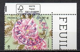 FRANCE 2020 - Timbre - Rose De Mai Oblitéré Cachet Rond - France