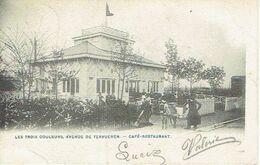 WOLUWE-SAINT-PIERRE - Les Trois Couleurs, Avenue De Tervueren - Café-restaurant - Attelage-Ane - Terrasse Animée - Woluwe-St-Pierre - St-Pieters-Woluwe