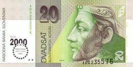 SLOVAKIA P. 34 20 K 1993 UNC - Slovacchia