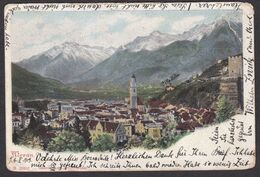 Austria / Italy: Meran / Merano - Colour View Posted 1903 To Grays Essex - Other