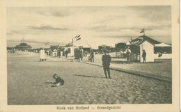 Hoek Van Holland; Strandgezicht - Niet Gelopen. (Joh. Lips - Hoek Van Holland) - Hoek Van Holland