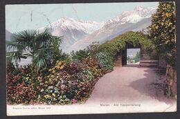 Austria / Italy: Meran / Merano Am Tappeinerweg - Colour View Posted 1907 - Autres