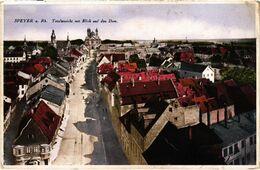 CPA AK Speyer A. Rh. Totalansicht Mit Blick Auf Den Dom GERMANY (921694) - Speyer