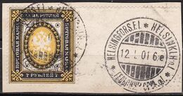 FI020 – FINLANDE – FINLAND – 1891 – IMPERIAL ARMS OF RUSSIA - SG 145 USED 412 € - Oblitérés